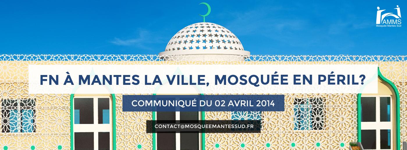Maire fn mantes la ville Projet Mosquee Mantes Sud