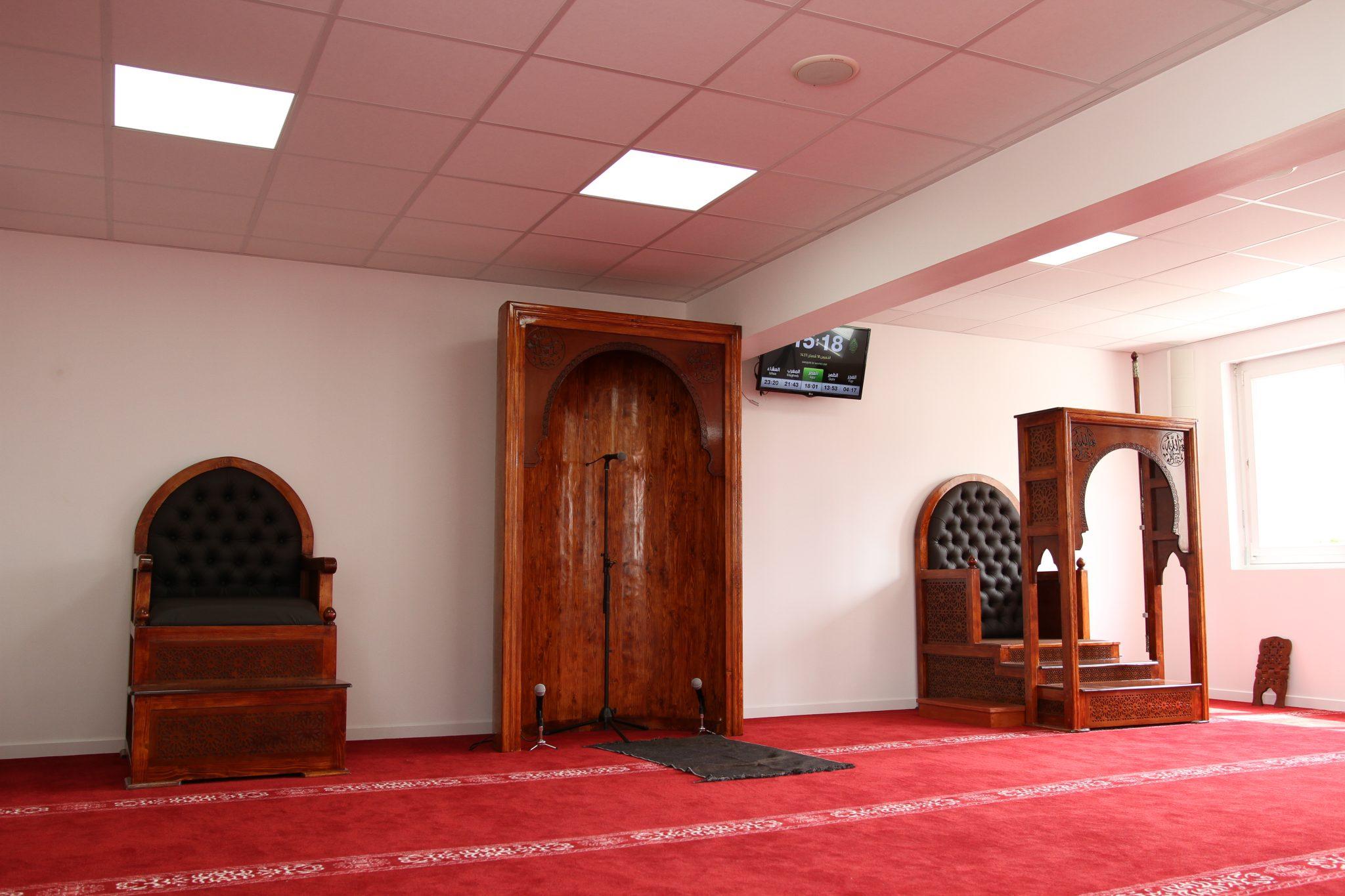 salle de prière homme