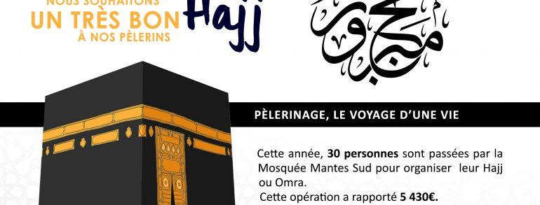 La Mosquée Mantes Sud souhaite un bon pèlerinage à tous ses pèlerins