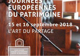Affiche des journées européennes du patrimoine à la Mosquée Mantes Sud
