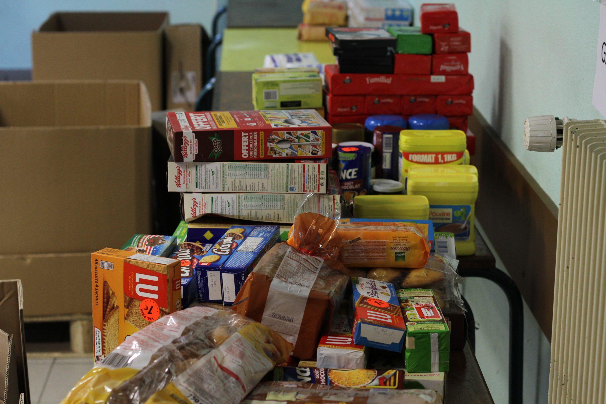 collecte alimentaire